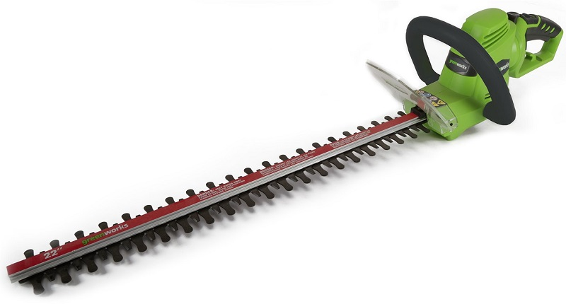 Greenworks 22-Inch 4 AMP Corded Hedge Trimmer