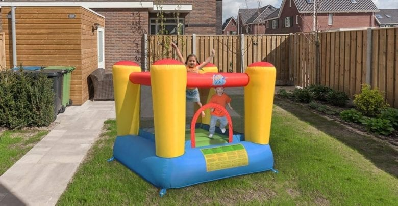 best jump bounce houses feature