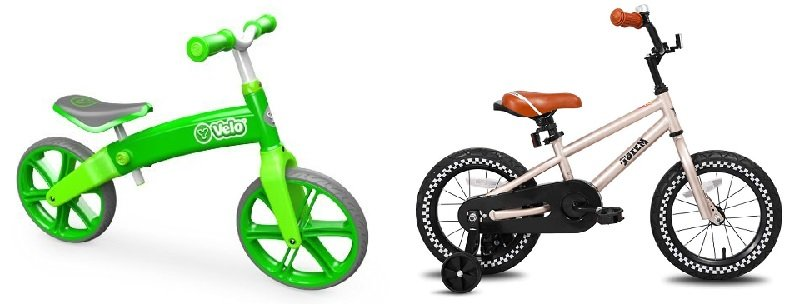 pedal vs balance kids bike