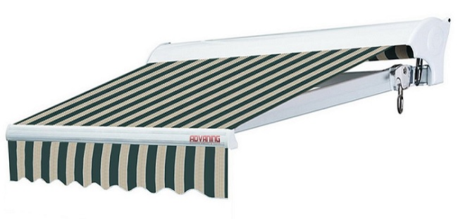 ADVANING Motorized Patio Retractable Awning