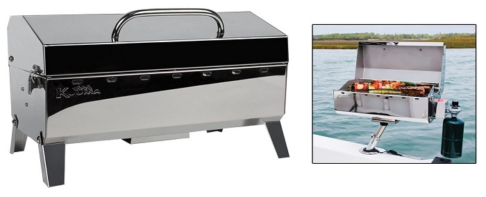 Kuuma Stow and Go Propane Mountable Grill
