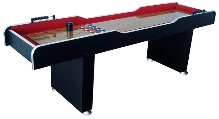 MD Sports Home Game Room Shuffleboard Table