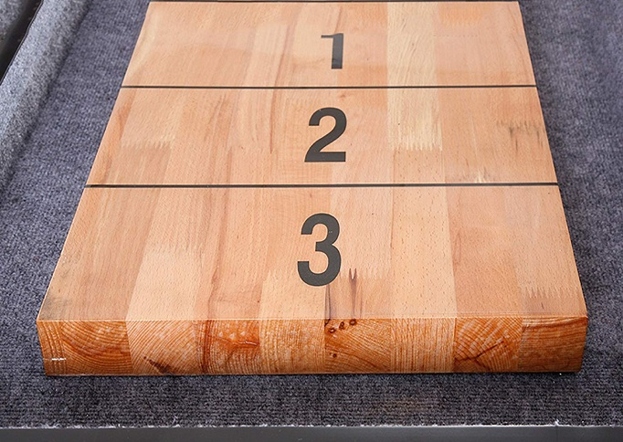 Shuffleboard Table Finish