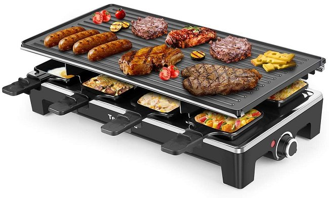 Techwood Electric Raclette Indoor Grill