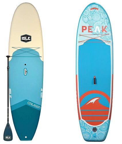 rigid paddle board vs inflatable paddle board