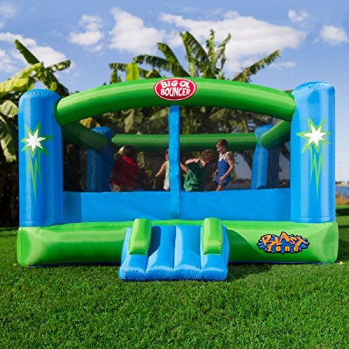 Blast-Zone-Bouncer-Inflatable-Moonwalk bounce house review