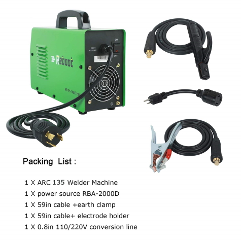 Inverter-Welding-Machine-Portable-Electrode stick welder kit