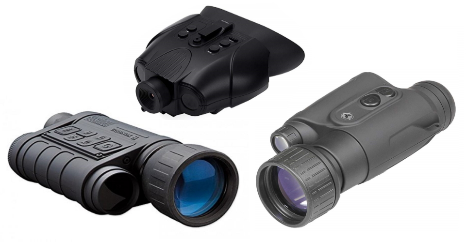 best night vision goggles and binoculars