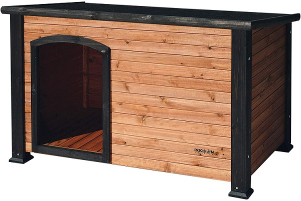Precision Pet by Petmate Extreme Weather-Resistant Log Cabin Dog House