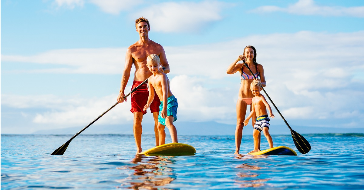Tips For Paddle Boarding With Kids