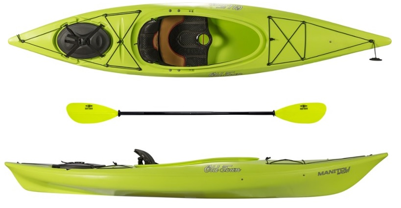 Old Town Manitou Sport Kayak with Paddle