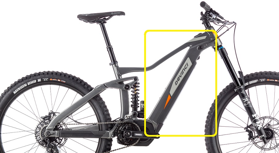 electric mountain bike battery