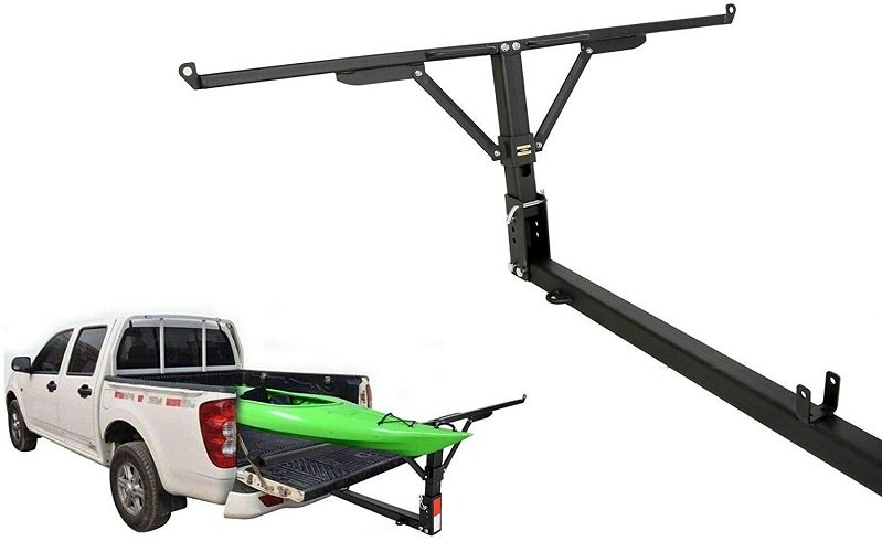 ECOTRIC Foldable Pick Up Truck Bed Hitch Extender