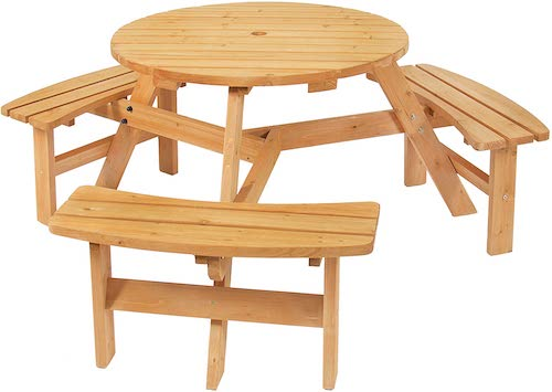 best outdoor picnic table