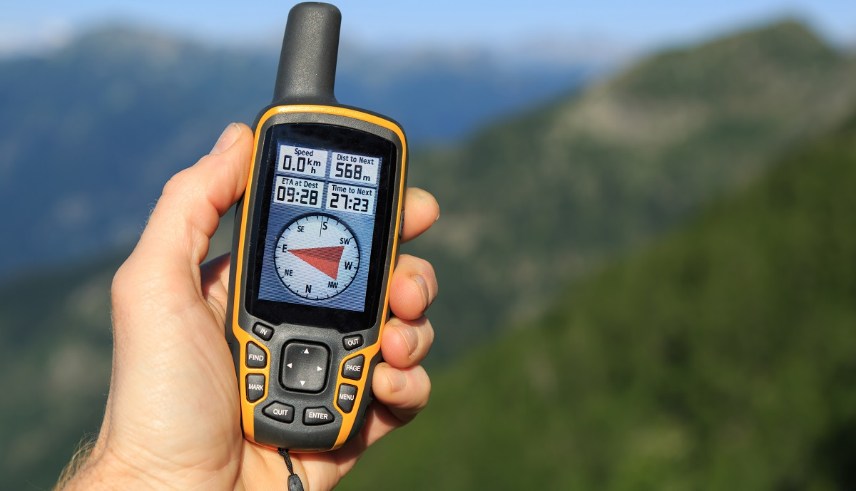 Exploring the outdoors with a GPS