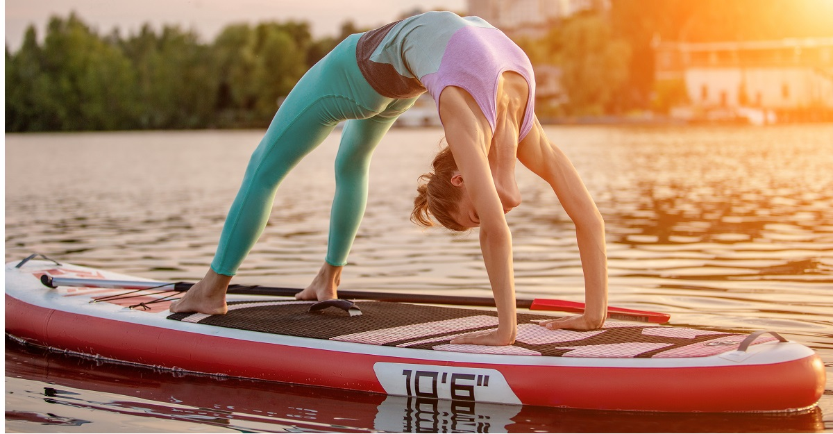 getting started with Stand Up Paddle Board Yoga