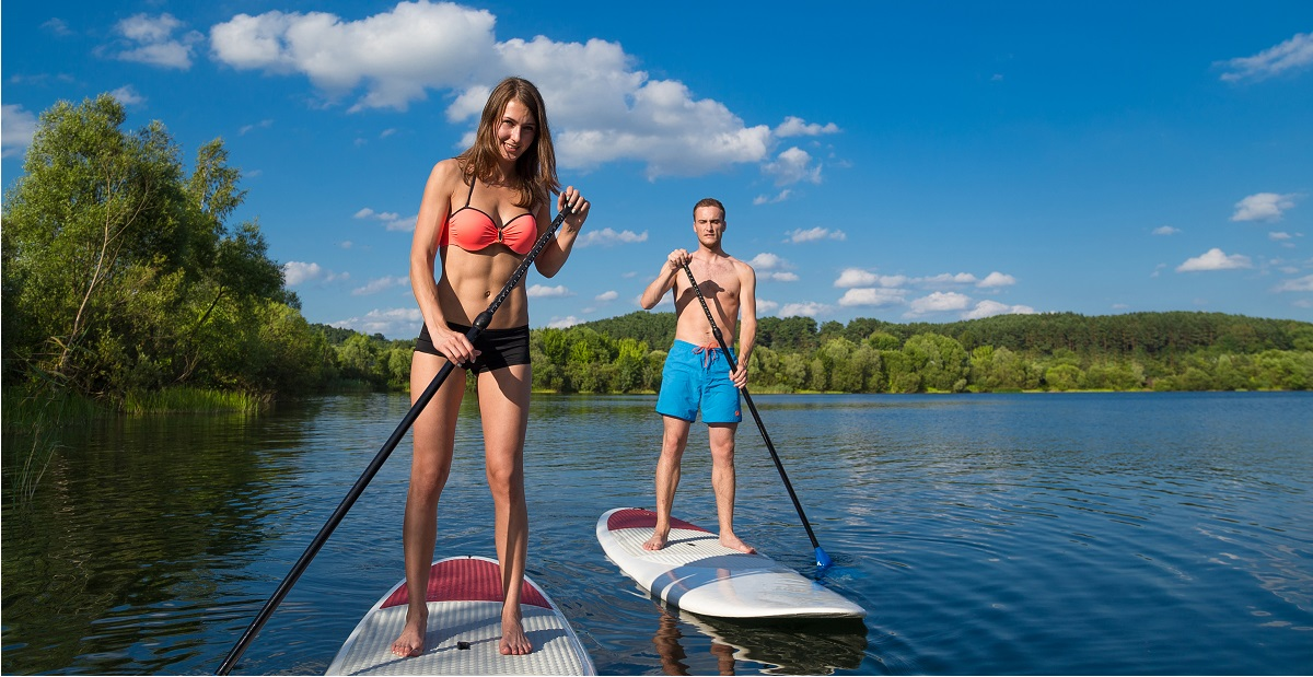 is paddle boarding hard