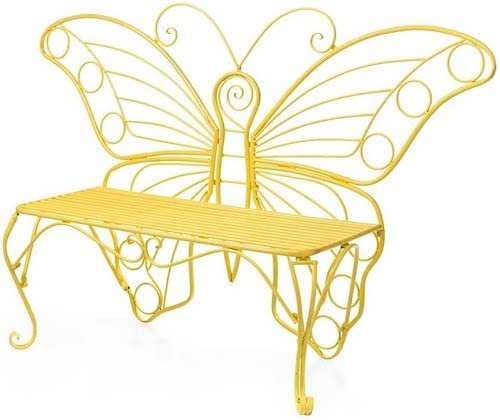 plow & hearth butterfly bench