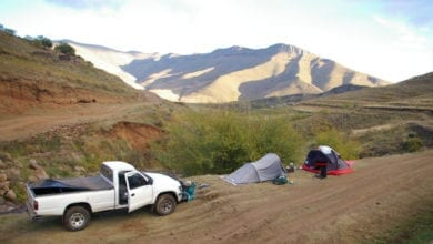 truck camping storage options