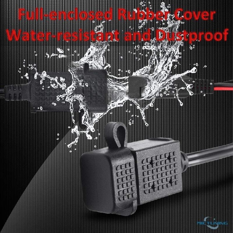 waterproof features motorcycle usb charger