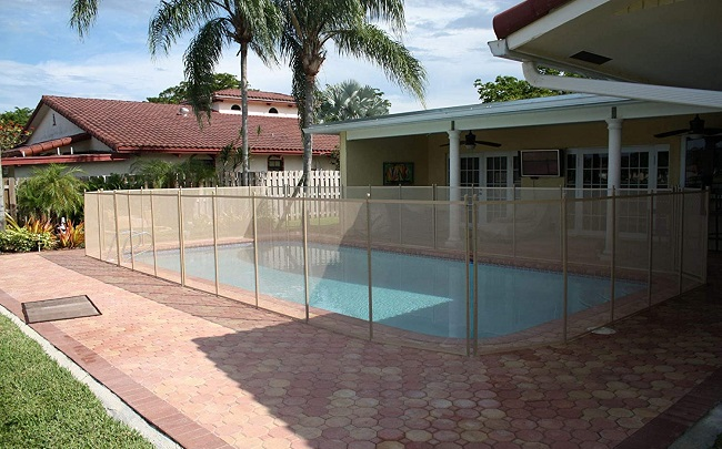 XtremepowerUS 90130 Pool Safety Fence