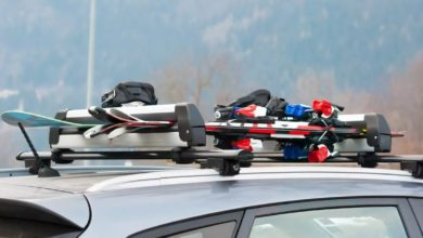 how to store and transport skis